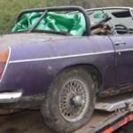 MG Club Rescues Ex-Rally Car