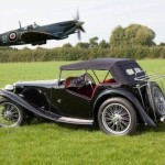 RAF Hero Sir Douglas Bader's MG TA at Auction